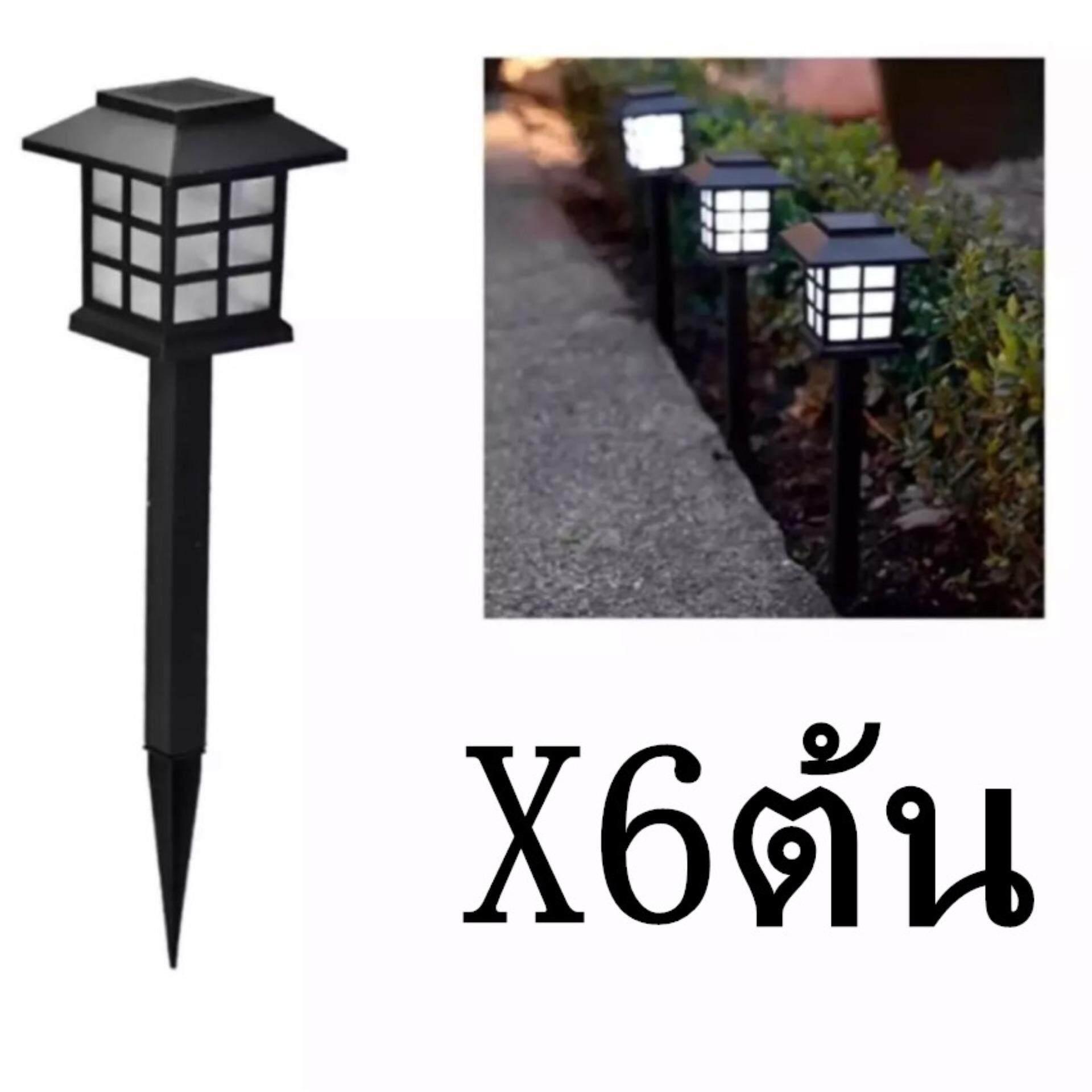 Led Zen Coolwhite ไฟทรงโคมญี่ปุ่นพลังงานแสงอาทิตย์ รุ่น:tyn002 (โทนแสงขาวเย็น)6ต้น .