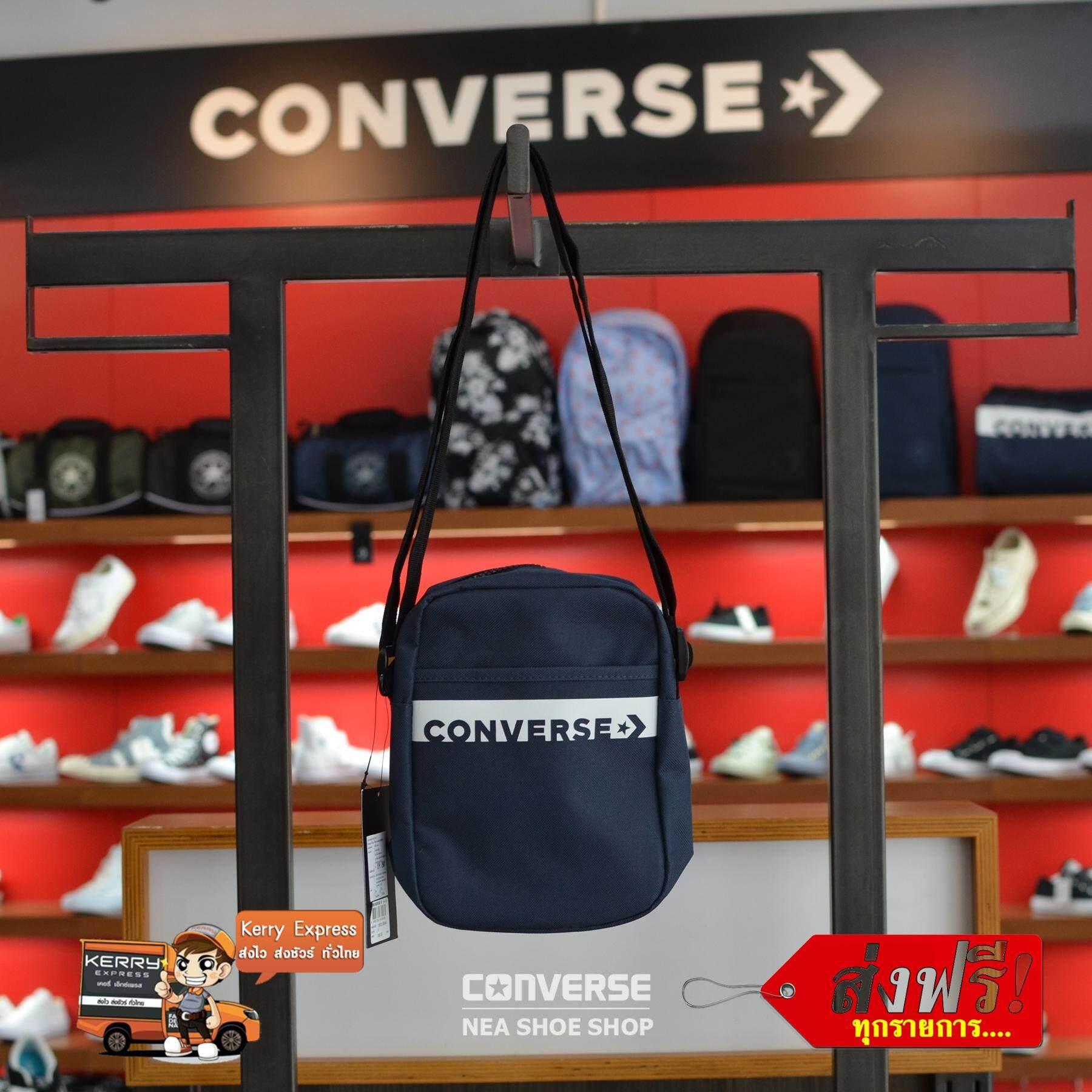 ลิขสิทธิ์แท้  Converse Revolution Mini Bag สีกรม (กระเป๋าสะพายข้าง) a83a01efbba19