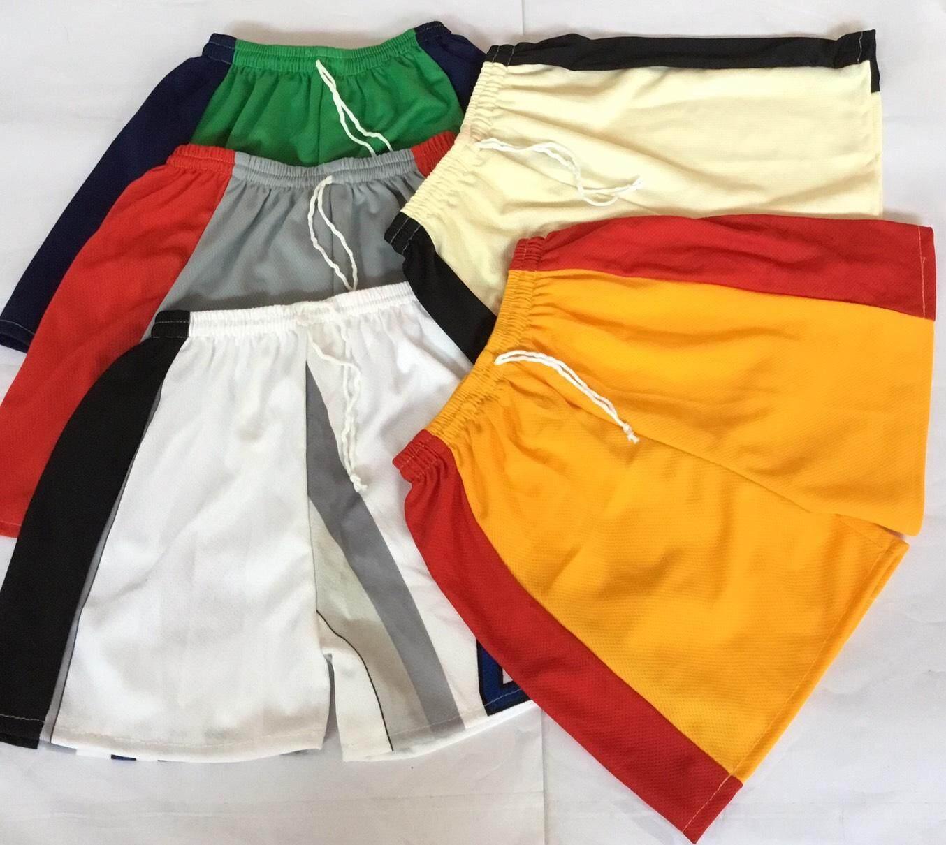 กางเกงขาสั้นเด็ก ชายและหญิง ขนาดสะเอวที่ใส่ได้18-28นิ้ว ราคาเซ็ต5ตัว110บาท