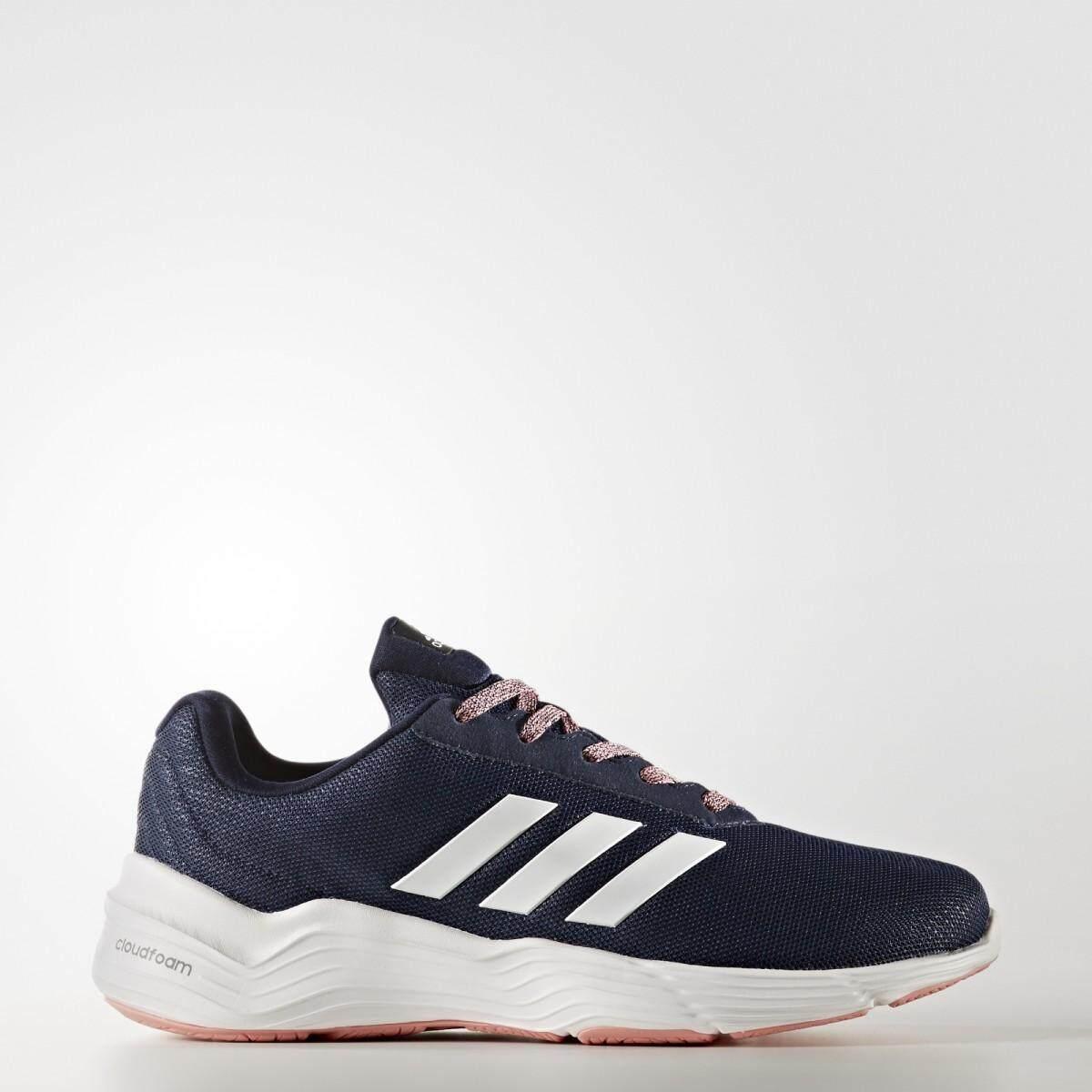 ขายดีมาก! Adidas รองเท้าผ้าใบอดิดาส Women Excercise shoes Fluid Cloud Bold Blue White น้ำหนักเบามาก สวมใส่สบาย พื้นรองรับแรงกระแทกดีมาก ของแท้100% ส่งไวด้วย kerry!!!