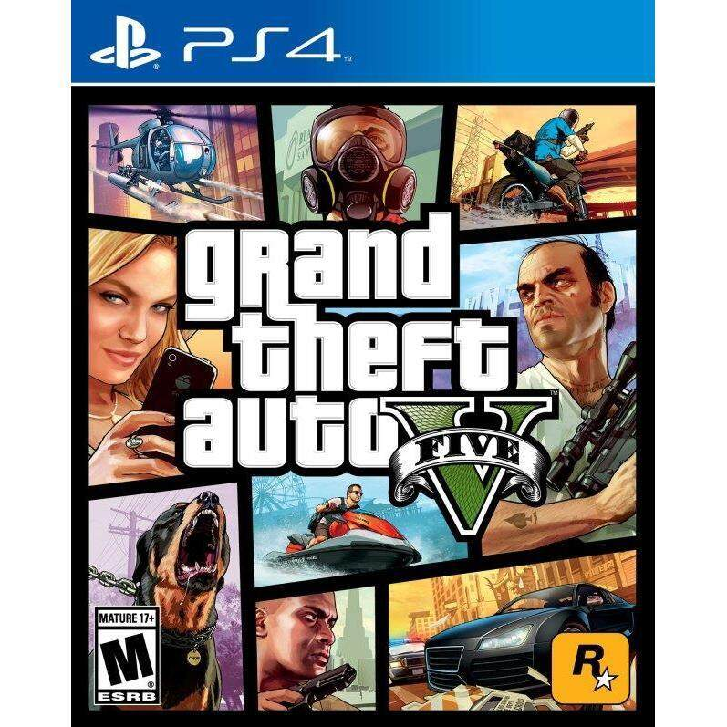 PS4 Grand Theft Auto V ( english zone 1 )