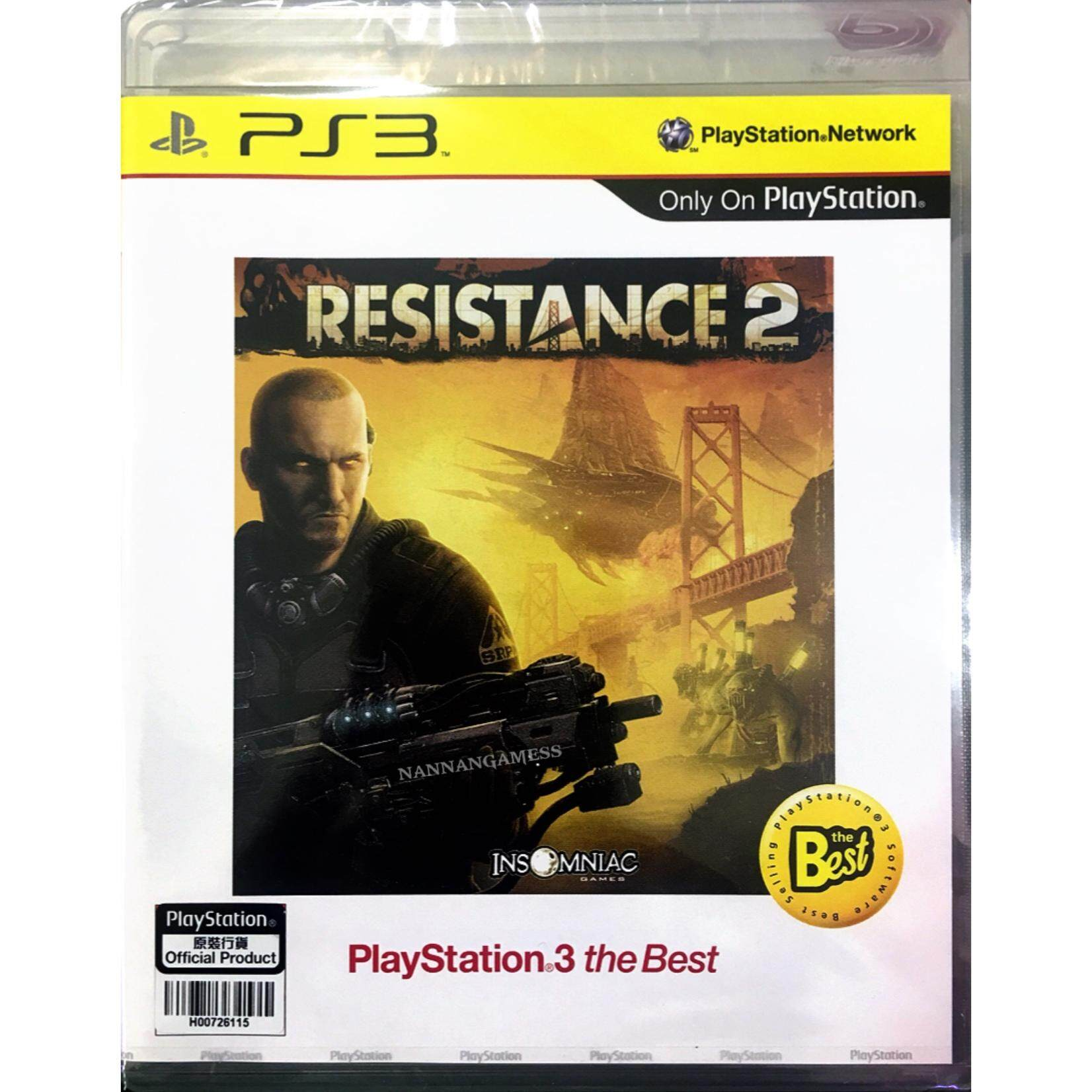 PS3 Resistance 2 ( English )