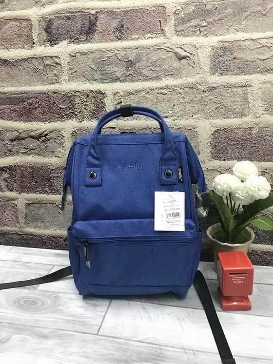 ยี่ห้อไหนดี  ระนอง Anello Mottled Polyester Mini Backpack