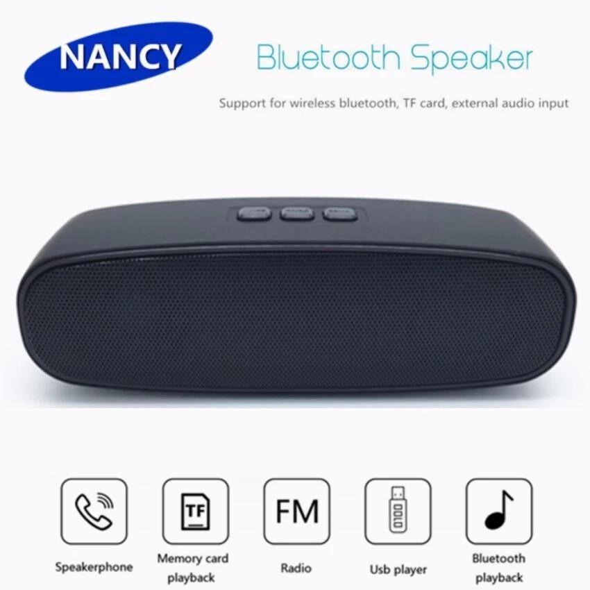 ซื้อ High Quality ลำโพงบลูทูธ Mini Wireless Bluetooth Speaker 966 Black ใหม่
