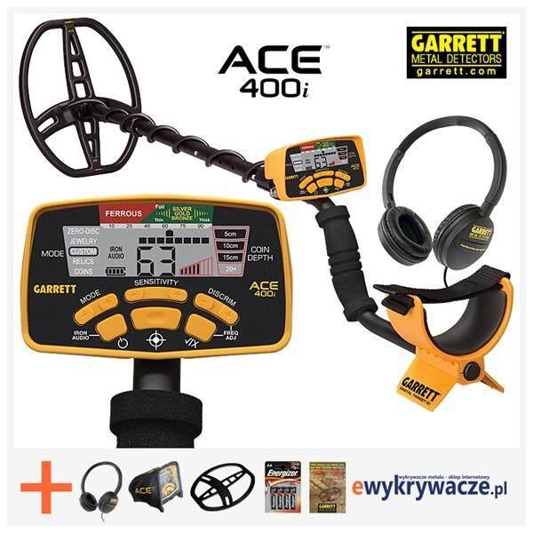 Garrett Ace 400i เครื่องตรวจจับโลหะ เครื่องหาทอง ของแท้ Usa Metal Detector คู่มือไทย ส่งไว ส่งด่วน เก็บเงินปลายทาง.