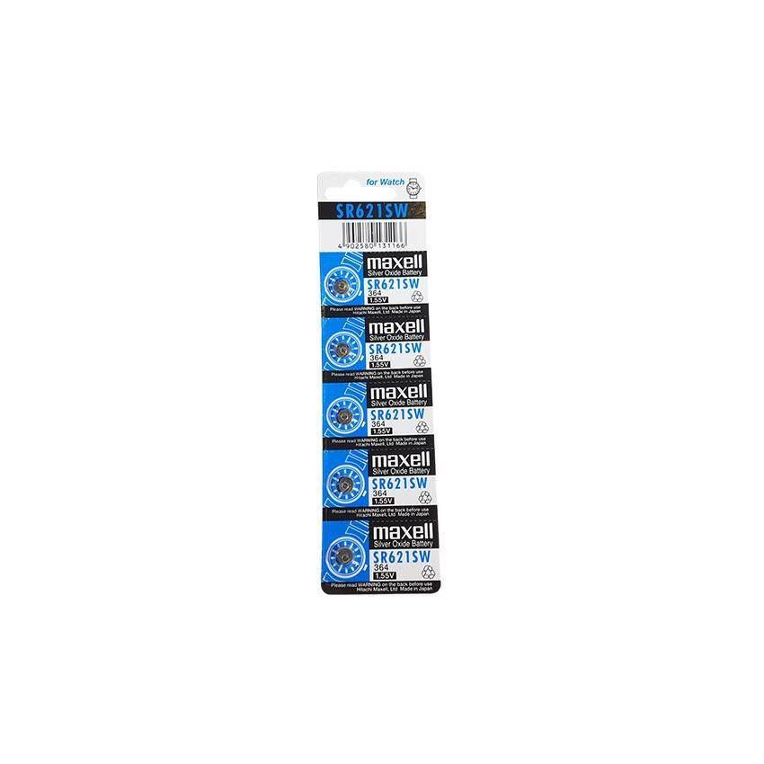 ซื้อ ถ่านกระดุม ถ่านนาฬิกา Sr621Sw 364 1 55V Sr 621 Sw Maxell Calcuator Battery ถ่านกลม นาฟิกา เครื่องคิดเลข ใหม่