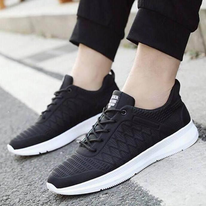 Cash fashion รองเท้า รองเท้าผ้าใบสำหรับผู้ชาย B005