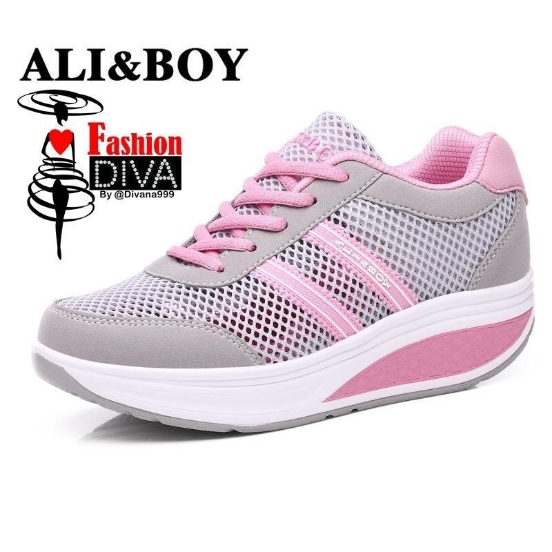 ส่วนลด Ali Boy รองเท้าแฟชั่นเพื่อสุขภาพ ผ้าตาข่ายโปร่งแสง ใส่สบาย ระบายอากาศได้ดี Ali Boy ใน กรุงเทพมหานคร