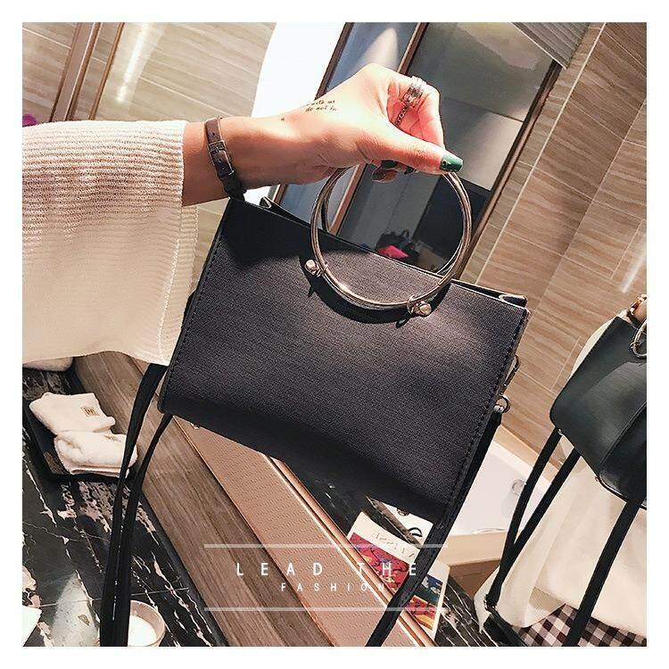 ซื้อ Teerak Fashion กระเป๋าถือ กระเป๋าสะพาย กระเป๋าแฟชั่นนำเข้า หนัง รุ่น Tf015 Teerak Fashion ถูก