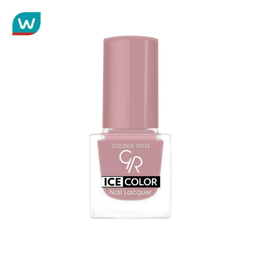 โกลเด้นโรส ยาทาเล็บ Ice Nail Lacquer No.166 6 มล. By Watsons.