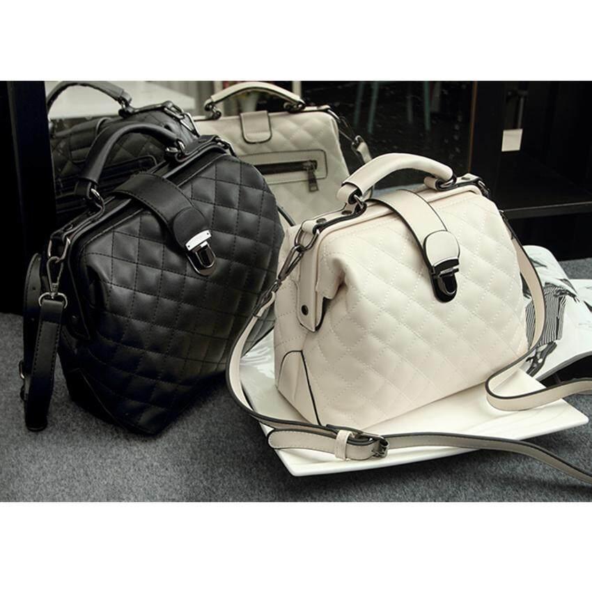 กระเป๋าเป้ นักเรียน ผู้หญิง วัยรุ่น น่าน N168 Women High Quality Leather Handbag กระเป๋าถือ กระเป๋าสะพายไหล่ กระเป๋าสะพายพาดลำตัว