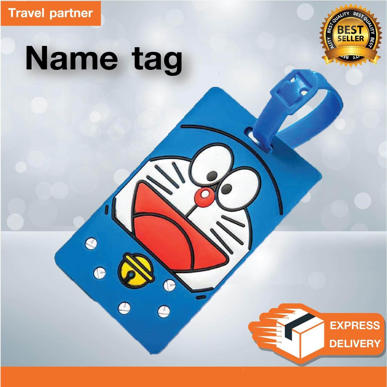 Travel Partner แท็กติดกระเป๋าเดินทาง  Name Tag ป้ายชื่อติดกระเป๋า .