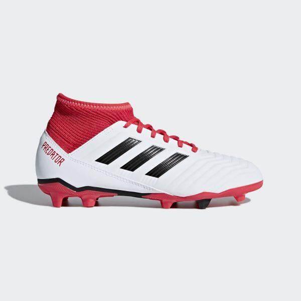 รองเท้าฟุตบอลเด็ก Adidas Cp9011 Predator 18.3 Fg J - White รองเท้าฟุตบอล รองเท้าฟุตบอลอาดิดาส By Gear Up.