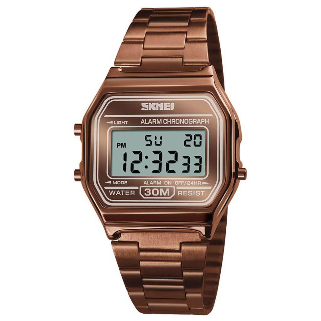 นาฬิกาแฟชั่น นาฬิกาทำงาน รุ่นใหม่ล่าสุด ของแท้ ส่งฟรี ส่งไว 1-3 วัน   รุ่น Skmei01.