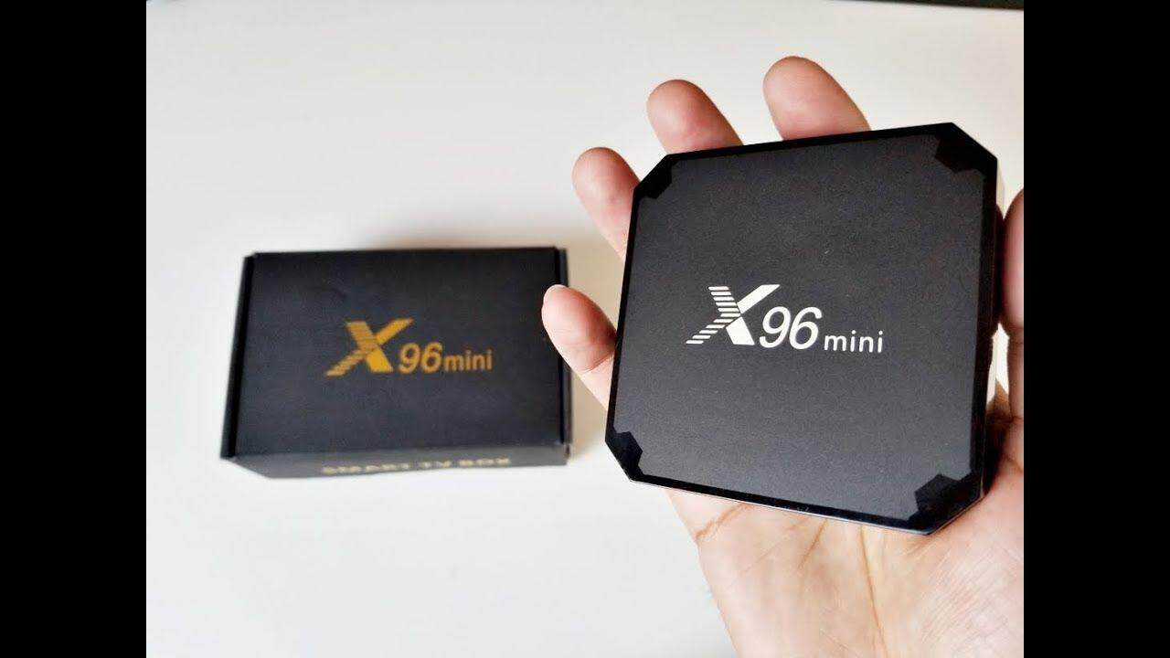 สกลนคร Android 7.1 X96 Smart Mini TV Box Black