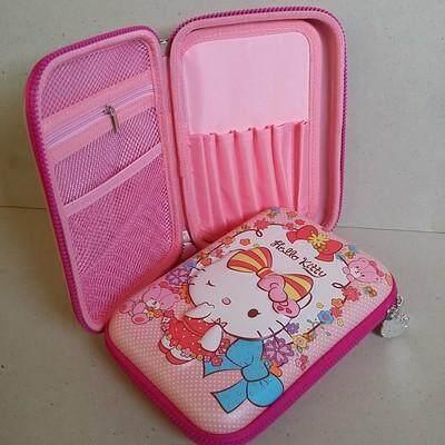 ลดสุดๆ ส่งฟรี Kerry!!! ขาย กล่องดินสอสมิกเกิ้ล EVA กระเป๋าดินสอ กล่องดินสอ smiggle hardtop pencil case 3d 3ดี คิตตี้ Kitty