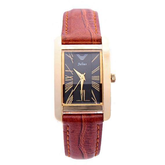 ขาย Julius นาฬิกาข้อมือผู้หญิง สายหนัง รุ่น Ja 399 Brown Bl Julius ออนไลน์