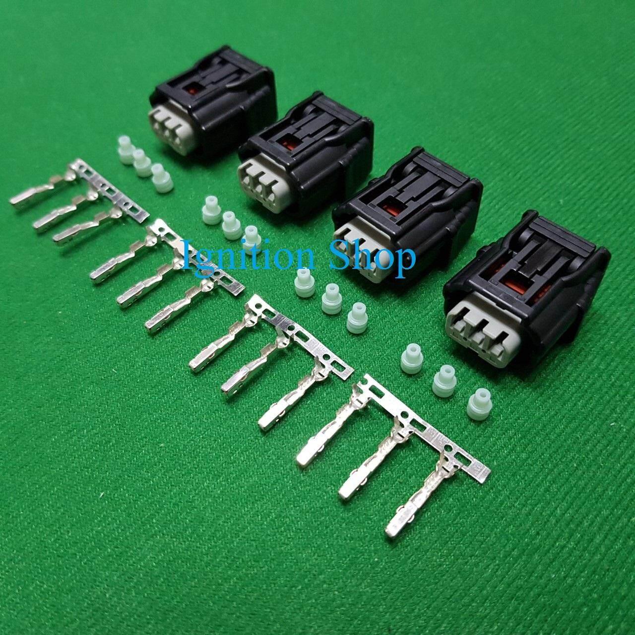 ปลั๊กคอยล์จุดระเบิด Honda Civic Fd 1.8, Jazz Ge, City Mc, Crv G32.0 และ Accrod G8 By Ignition Shop.