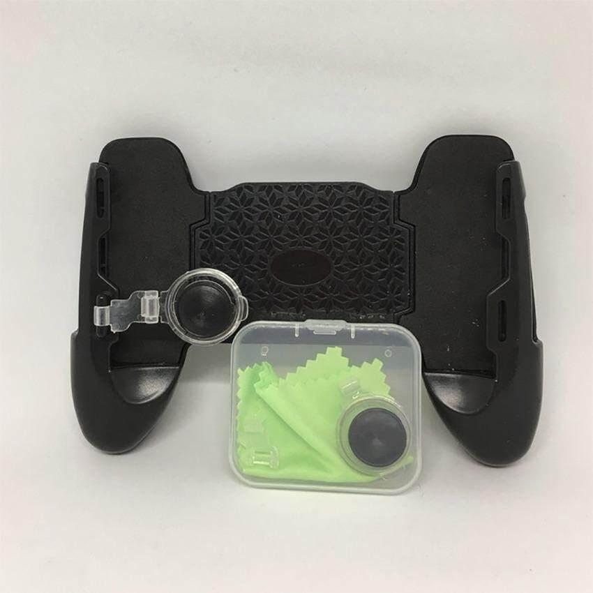 CHOW Joypad K2 จอยถือด้ามจับเล่นเกมสำหรับมือถือ พร้อมจอย ROV (Black/สีดำ)