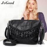 พัทลุง JvGood กระเป๋าสะพายข้าง CrossBody Shoulder Bag Purse PU Leather Messenger Bag Sling Bag with Tassel Satchel Bag Tote Purse Top Handle Handbag Backpack for Women Teen Girls