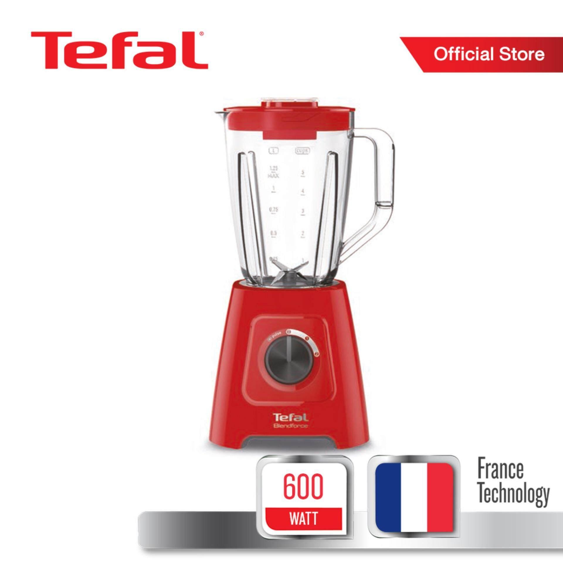 [Online Exclusive] Tefal เครื่องปั่นอเนกประสงค์ กำลังไฟ 600 วัตต์ ขนาดความจุ 1.7 ลิตร รุ่น BL420531 -Red