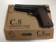 ปืนอัดลม C.8 ง้างนกได้ แถมฟรีลูกกระสุนเซรามิค