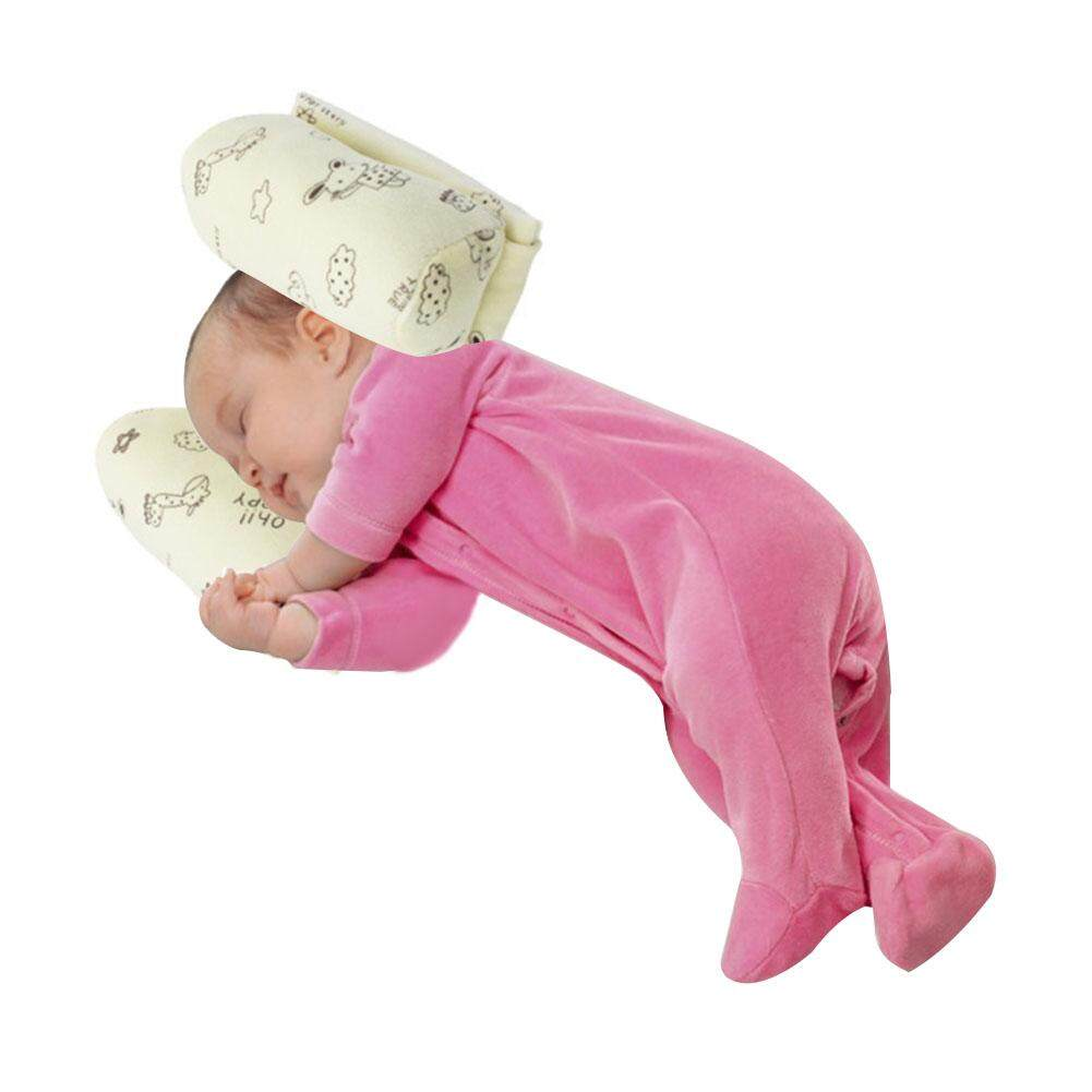 Er Newborn Baby Lateral Pillow Adjusted Head Sleep Soft Cotton Core Pillow By Jierui Trade.