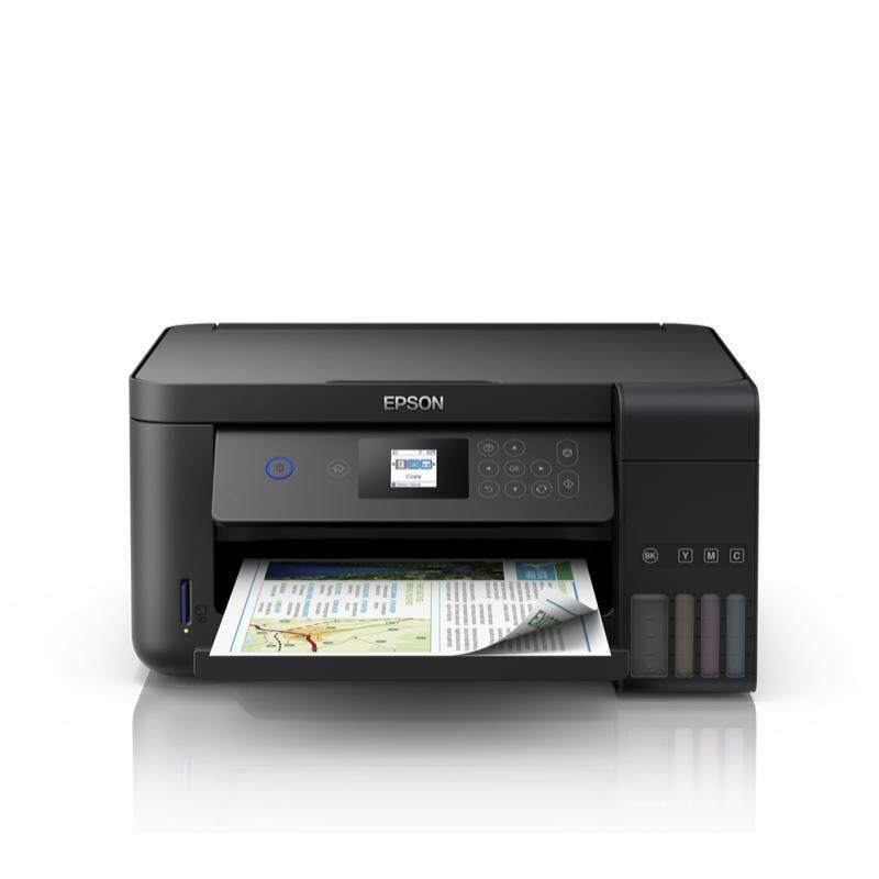 ลดสุดๆ [Wevery]- เครื่องปริ้นท์อิ้งค์แท๊งก์ Epson L4160 Wi-Fi Duplex All-in-One เครื่องปริ้น epson ปริ้นเตอร์ all in one printer laser all in one ส่ง Kerry เก็บปลายทางได้