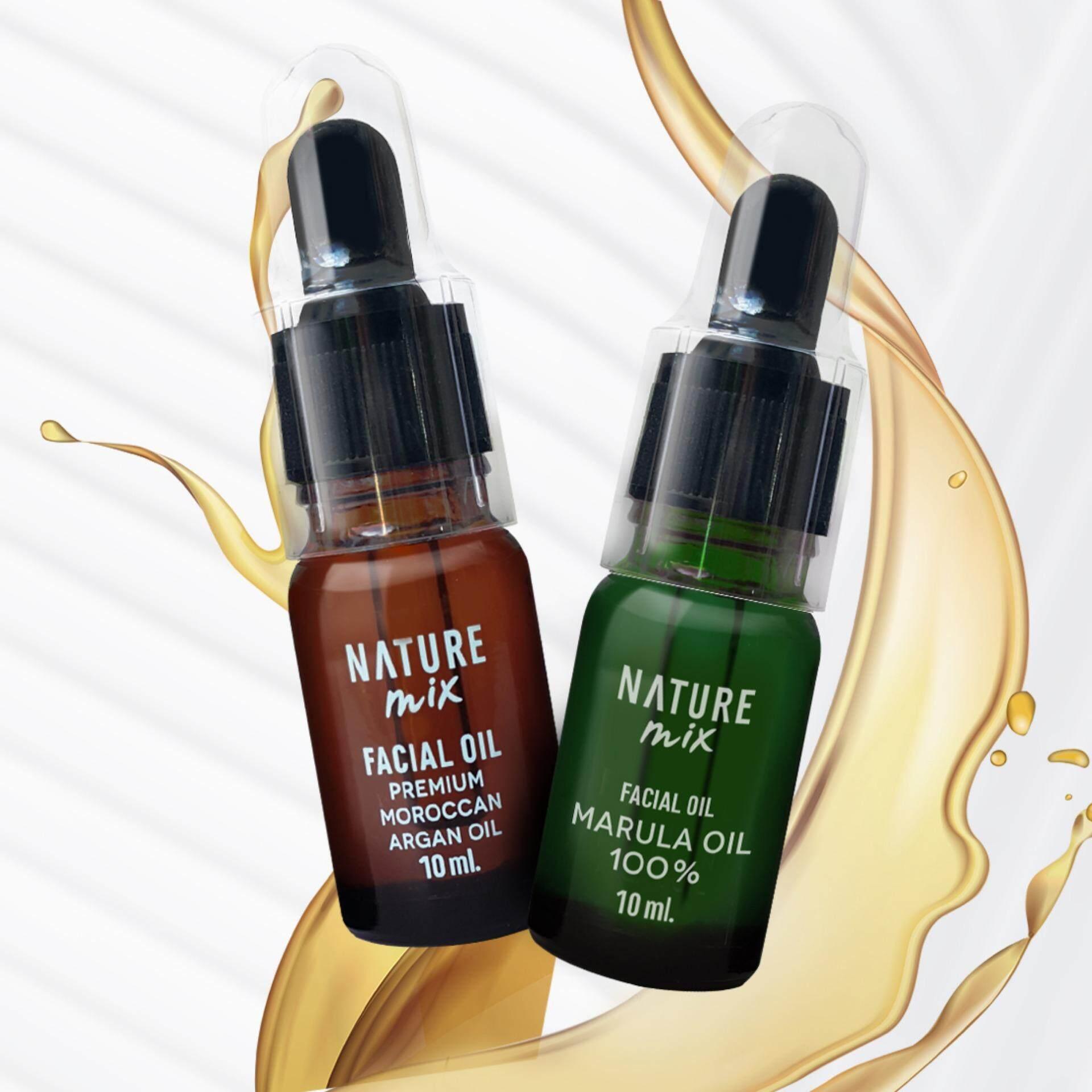 NatureMix Argan & Marula Oil จับคู่ผิวออร่า