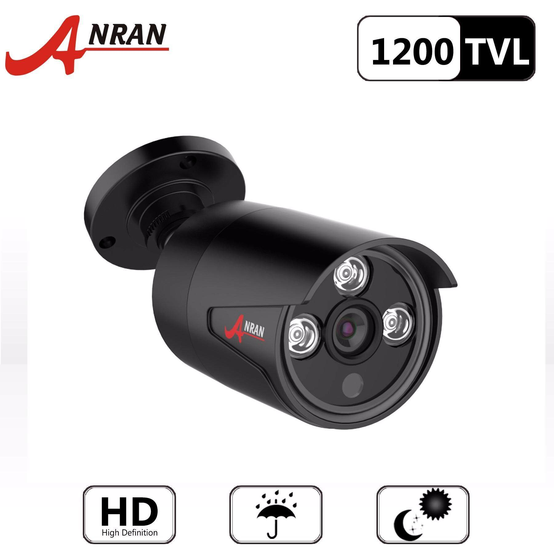 ราคา Anran Hd 1200Tvl Cmos Sensor Security Waterproof Outdoor Indoor Bullet Surveillance Cctv Camera ใหม่ล่าสุด