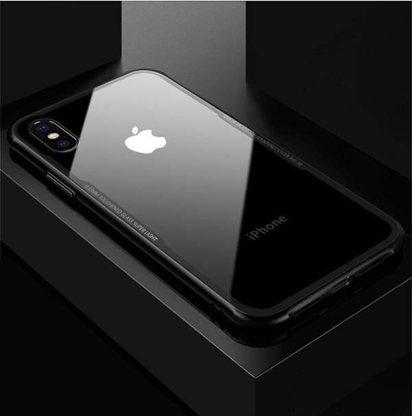 Case For iPhone TPU + ฝาหลังพลาสติกแบบใสTransparent TPU สำหรับ iphone 5/