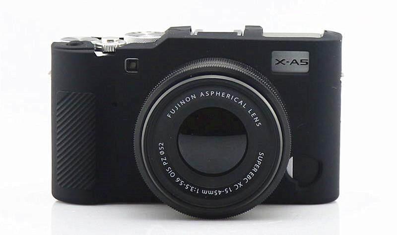Body Cover Case Skin Fuji Camera For X-A5 Xa5 Soft Rubber Silicone Camera Bag For Xa5 X-A5.