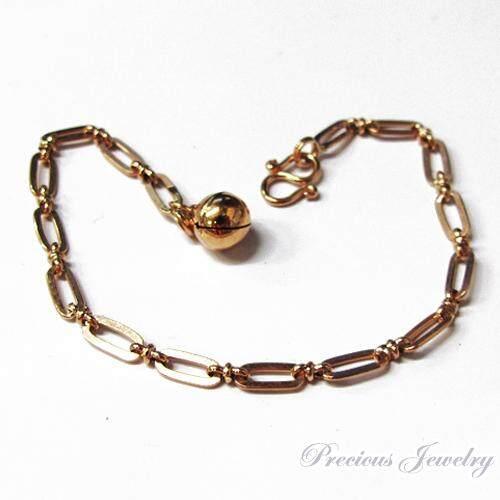Preciousjewelry สร้อยข้อมือนาคโซ่คั่นหวาย(น้ำหนัก1สลึง)(มีความยาว7นิ้ว)ทองแท้40% By Precious Jewelry.