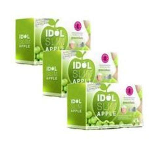 ขาย Idol Slim Apple ไอดอล สลิม แอปเปิ้ล 3 กล่องเครื่องดื่มชงลดน้ำหนัก สูตรระเบิดไขมัน6เท่าปราศจากน้ำตาล โคเรสเตอรอล0 Idol Slim Apple ผู้ค้าส่ง