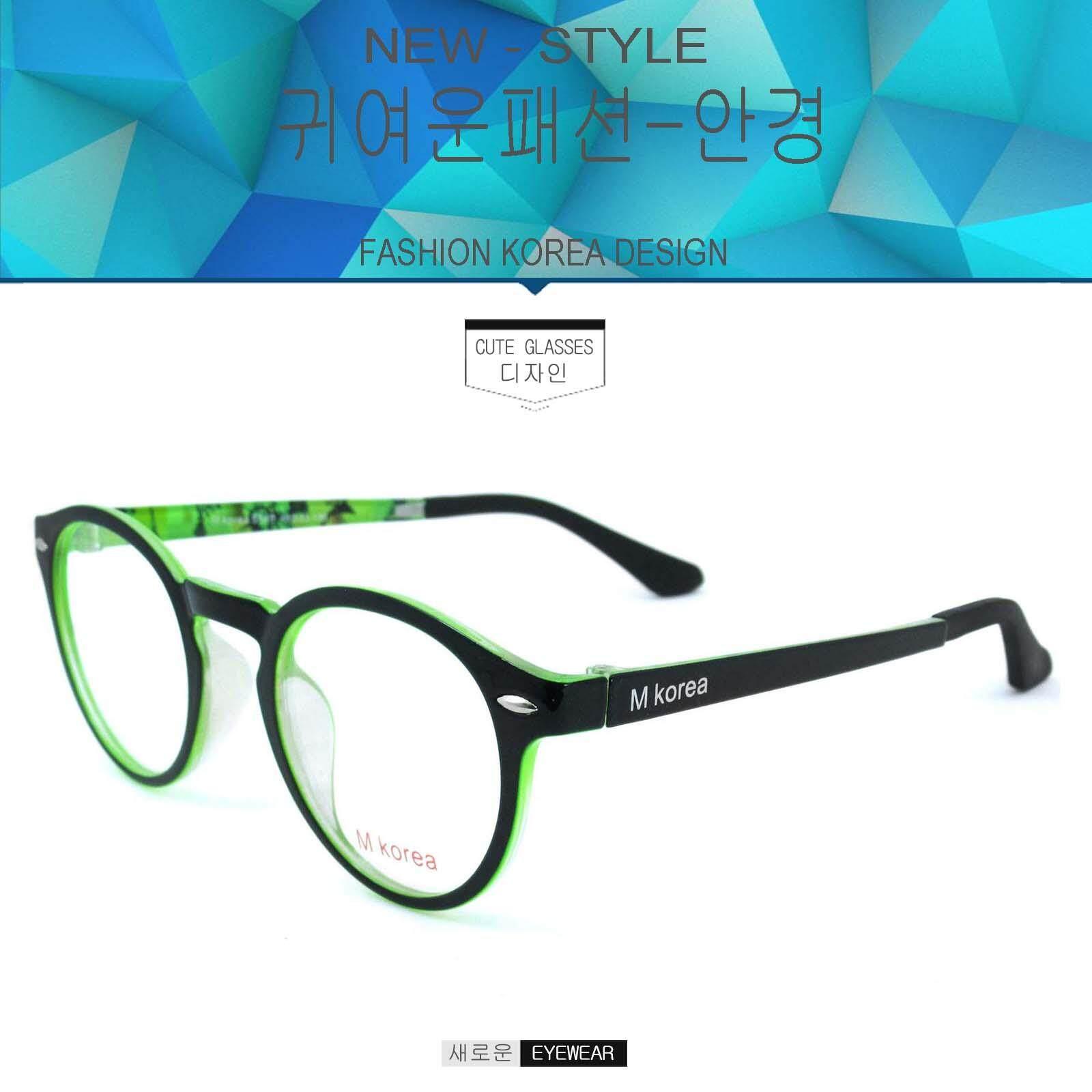 แว่นตาเกาหลี Fashion Korea แว่นตา รุ่น M Korea 5540 กรอบแว่นตา Eyeglass Frame แว่นตากรองแสงสีฟ้า ถนอมสายตา (กรองแสงคอม กรองแสงมือถือ) วัสดุ Pc ขาข้อต่อ Eyeweartop Glasses By Big See.