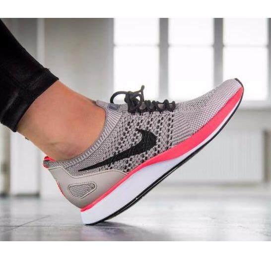 ราคา Nike รองเท้าแฟชั่น ฟิตเนส ออกกำลังกาย ไนกี้ Sneaker Air Zoom Mariah Flyknit Racer Beige Pink Hot Nike เป็นต้นฉบับ