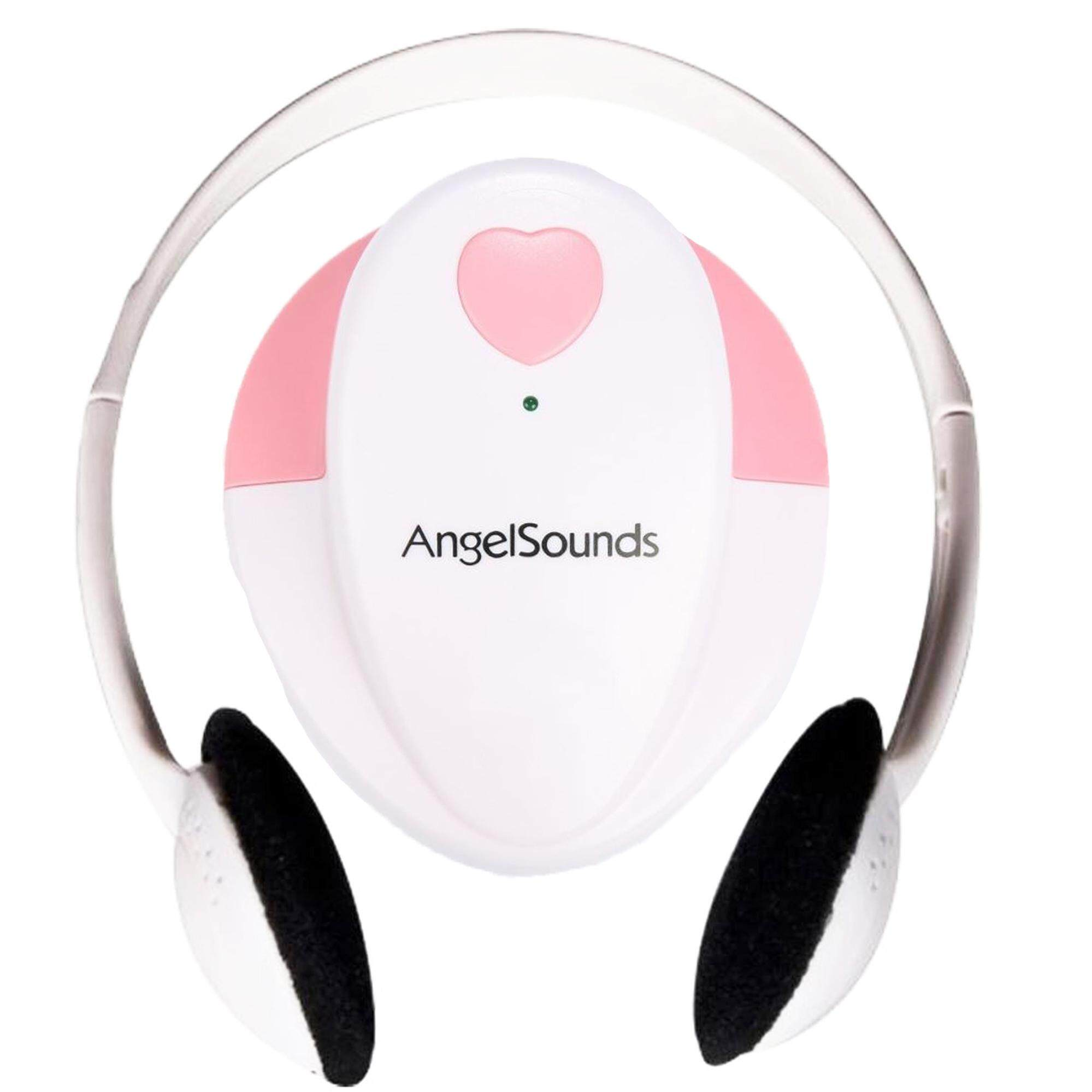 jumper เครื่องฟังเสียงหัวใจทารกในครรภ์ รุ่น angelsounds jpd100s - white .