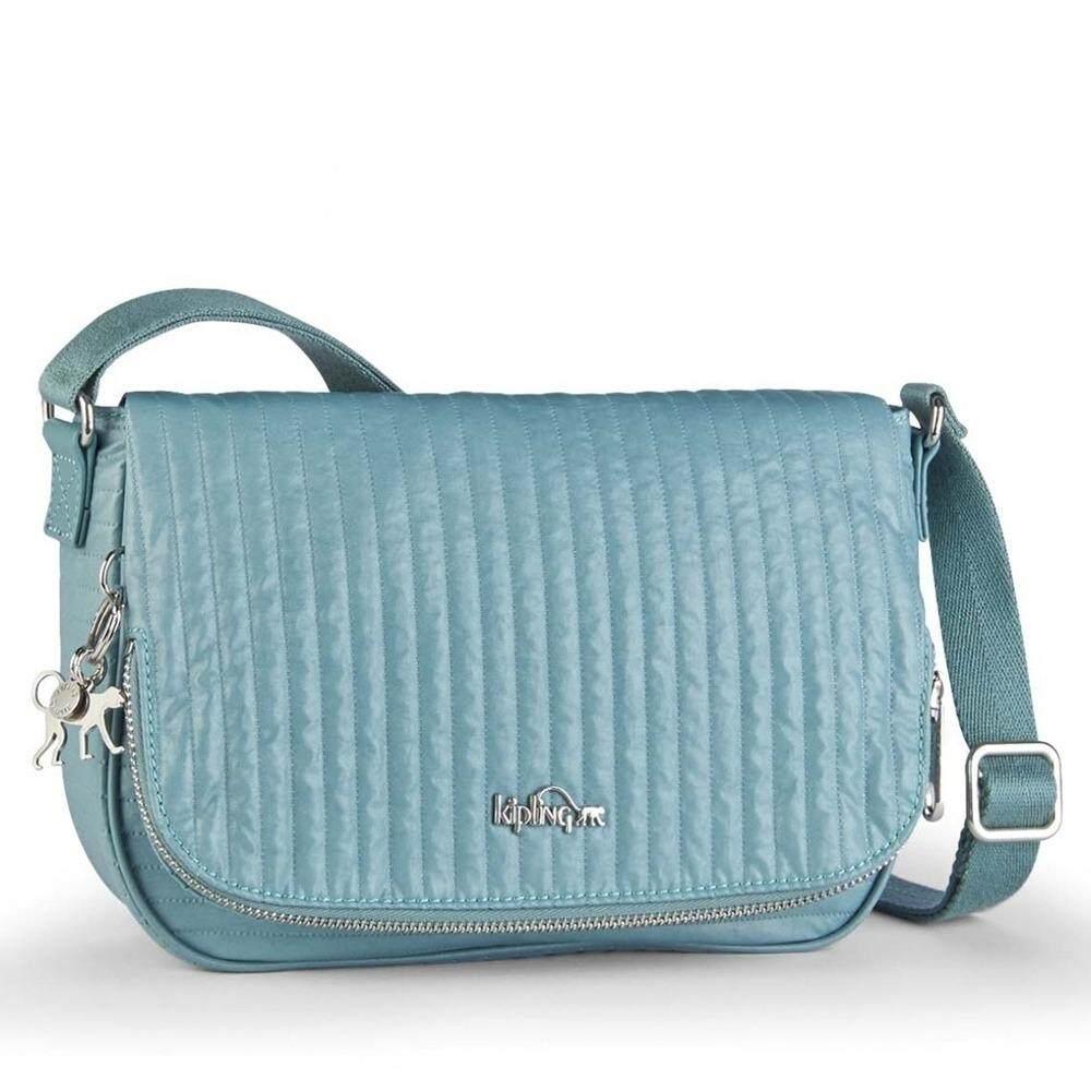 ซื้อ กระเป๋า Kipling Earthbeat S Misty Blue ใน กรุงเทพมหานคร