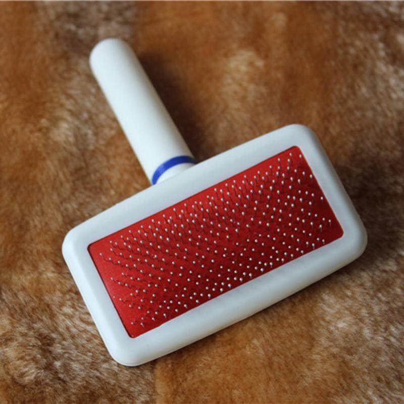 Red Puppy Cat Hair Grooming Slicker Comb Gilling Brush Quick Clean Tool Pet By Raybeck.