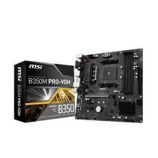 MAINBOARD (เมนบอร์ด)MSI ProSeries AMD Ryzen B350 DDR4 VR Ready HDMI USB 3 micro
