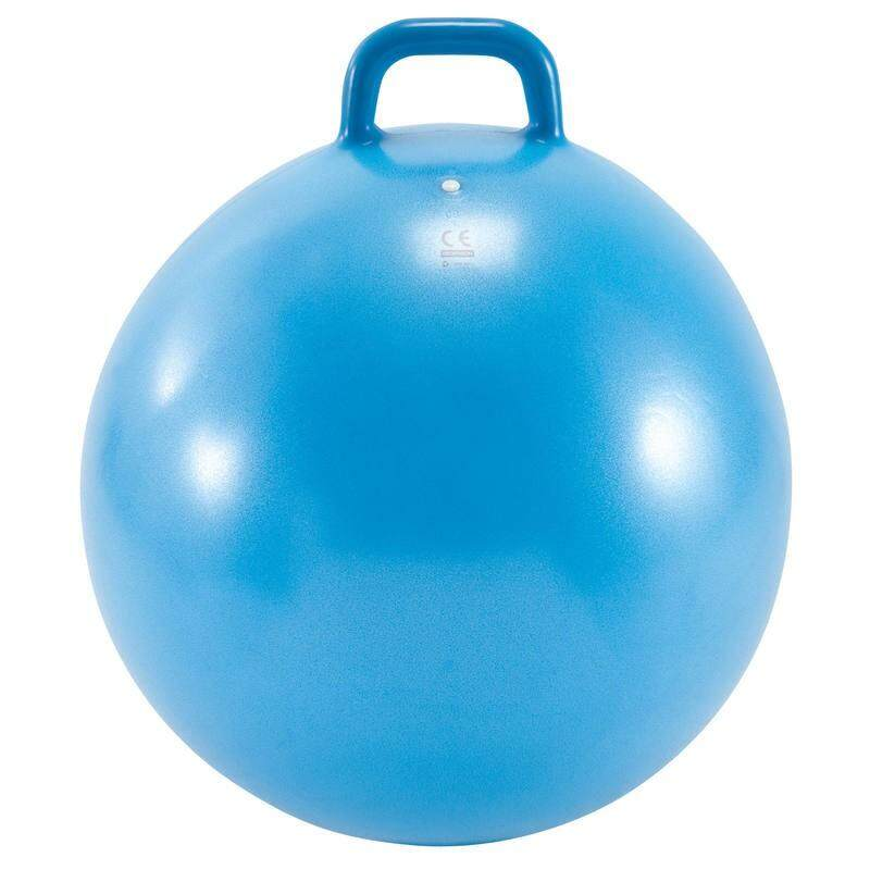 ++ส่งฟรีทั่วไทย++ อุปกรณ์ยิมสำหรับเด็ก ลูกบอลออกกำลังกายแบบมีหูจับสำหรับเด็กรุ่น Resist ขนาด 60 ซม. (สีฟ้า) By Daddy.