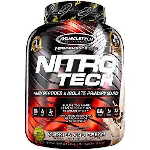 ขาย Muscletech Nitrotech 3 97Lb Cookies And Cream ราคาถูกที่สุด