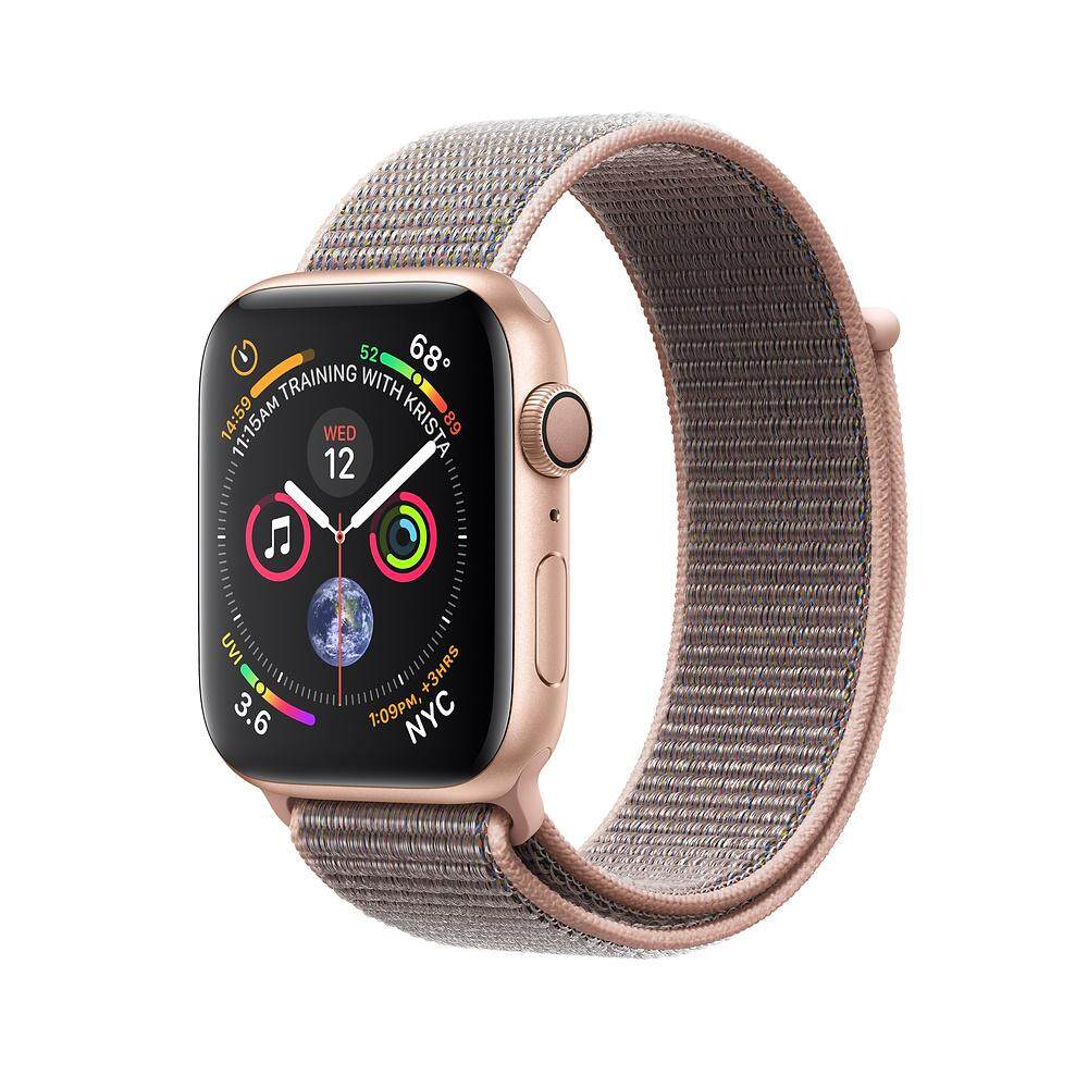 Apple Smartwatches Watch 2 Series 1 38mm Rose Gold Aluminum Pink Sport Band 4 Gps 44mm Aluminium Case With Sand Loop