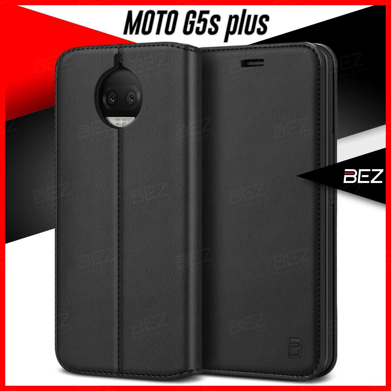 เช็คราคา เคส Moto G5S Plus เคสโมโต จี5S พลัส Motorola G5S Plus Case เคสมือถือ โมโต G5S+ เคสโทรศัพท์ BEZ เคสฝาปิด กันกระแทก เคสหนัง ฝาพับ Wallet Flip Case / PU4 MG5SP- ออนไลน์