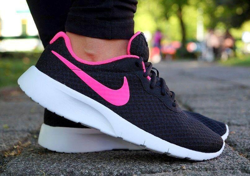 สุดยอดสินค้า!! NIKE รองเท้าผ้าใบ ไนกี้ Tanjun (Black-Pink ลุค Cool) ++ของแท้100% พร้อมส่ง ส่งด่วน kerry++