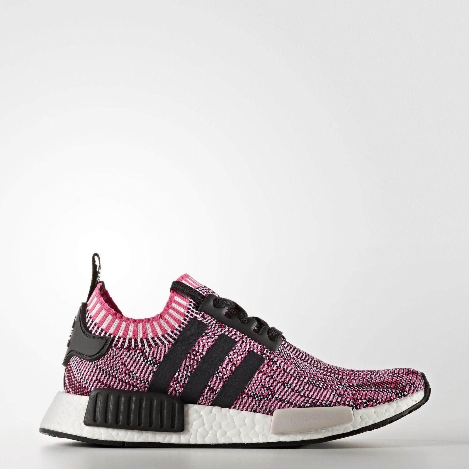สอนใช้งาน  บุรีรัมย์ adidas Originals NMD R1 Shock Pink / Core Black