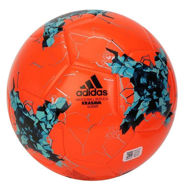 สอนใช้งาน  Adidas FIFA Confederation Cup Russia 2017 KRASAVAGlider  SoccerBallStandard SizeNo.5 Football (AZ3189)