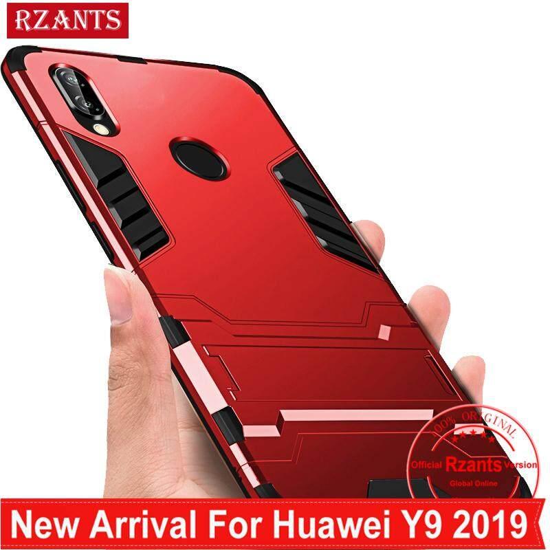 Rzants สำหรับ เคส Huawei Y9 2019 เคสโทรศัพท์ เคสมือถือ [Armor] งานหนักไฮบริดกันกระแทกเต็มรูปแบบป้องกันเคสโทรศัพท์