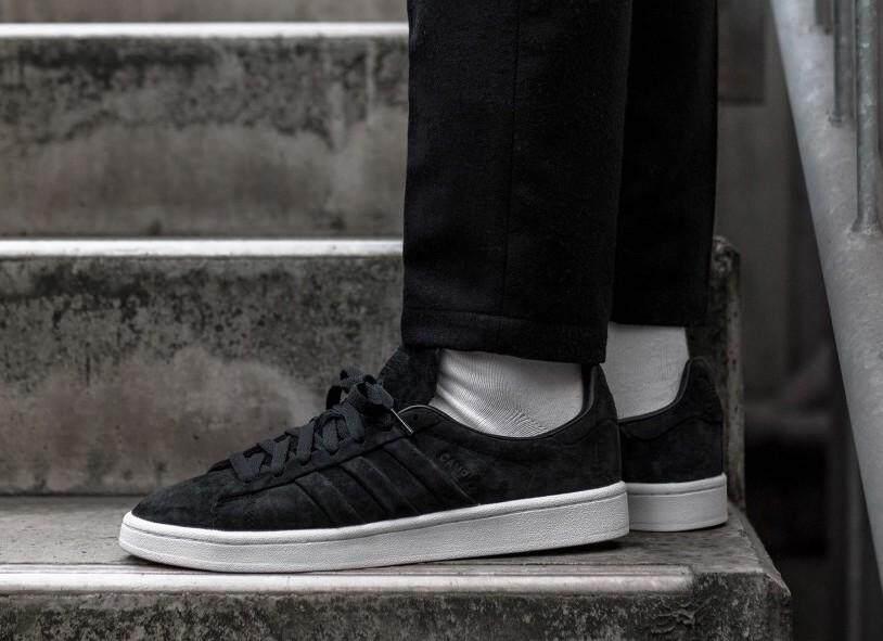 สุดยอดสินค้า!! ADIDAS รองเท้าผ้าใบ แฟชั่น อาดิดาส ผู้ชาย MEN SHOE CAMPUS BLACK ++ลิขสิทธิ์แท้ พร้อมส่ง ส่งด่วน kerry++