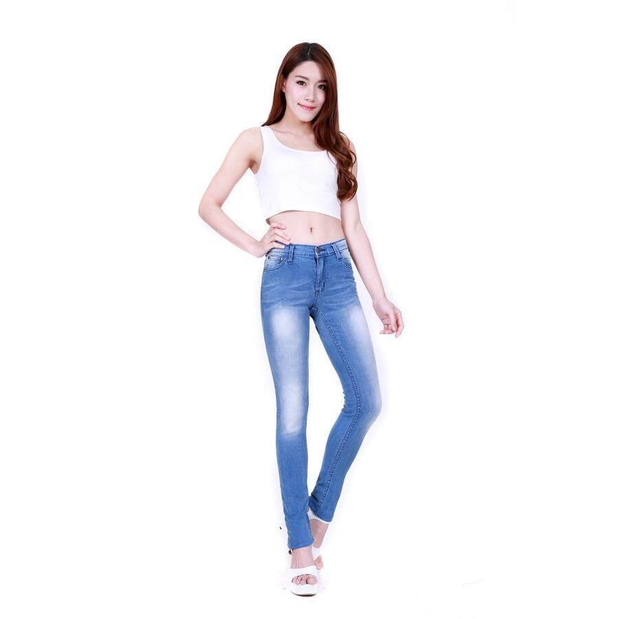ความคิดเห็น Eiffel Jeans กางเกงยีนส์ สกินนี่ ขายาว รุ่น คลาสสิค E88 สีฟ้า